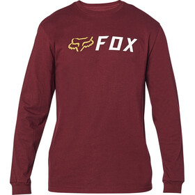 Fox Apex LS Tee Men cranberry